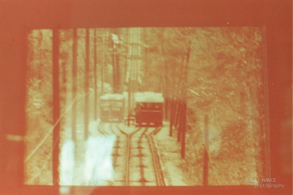 Incline Railway Front View. Polly Nance. Film photograph. 2012.