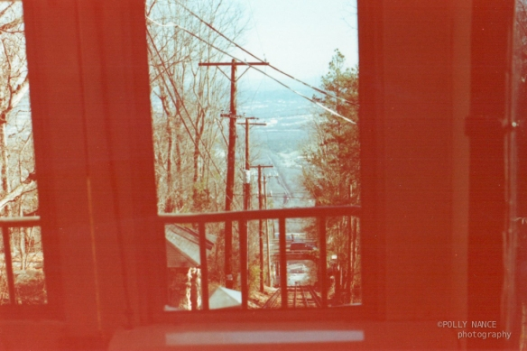 The Incline Railway View. Polly Nance. Film photograph. 2012.