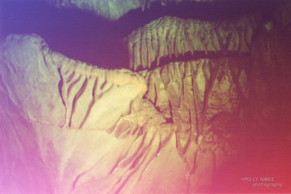 The Ruby Fall Caves. Polly Nance. Film photograph. 2012.