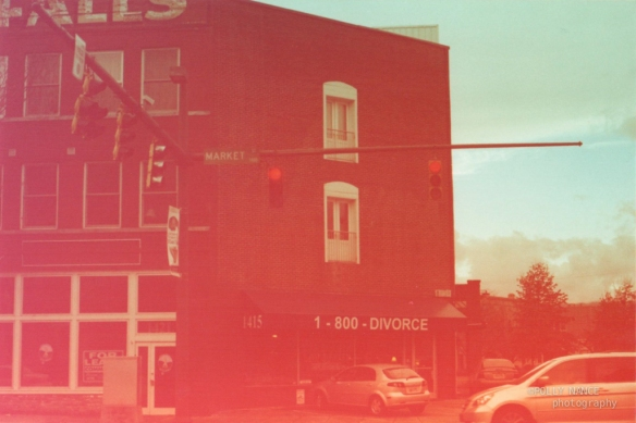 1800-Divorce. Polly Nance. Film photograph. 2012.