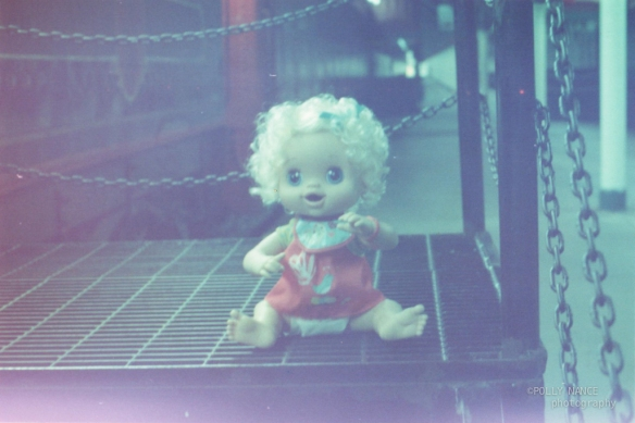 Lennon's Baby in Chattanooga. Polly Nance. Film photograph. 2012.