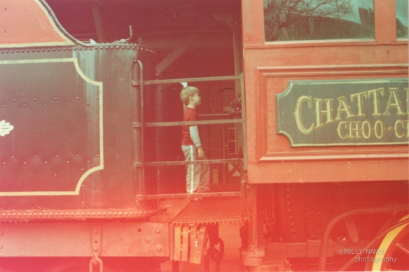 Rush at the Chattanooga Choo Choo Hotel. Polly Nance. Film photograph. 2012.