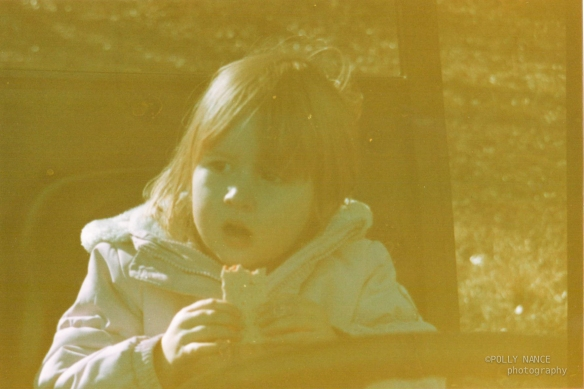 Lennon Eats. Film photograph. Polly Nance. 2012.